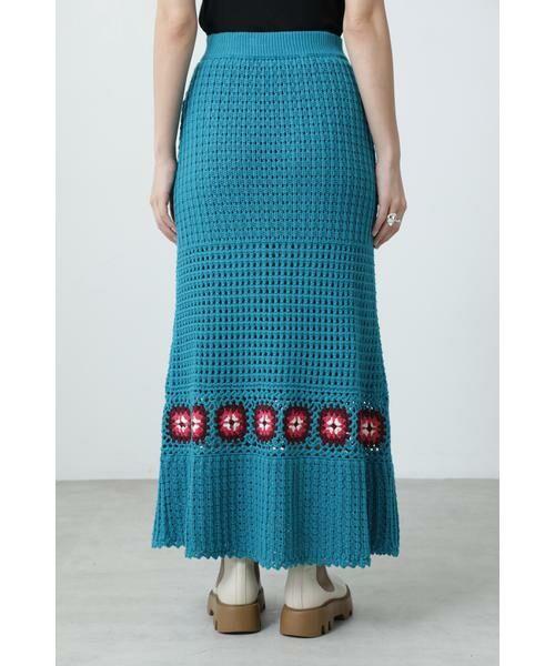 ROSE BUD / ローズ バッド スカート | クロシェスカート | 詳細6