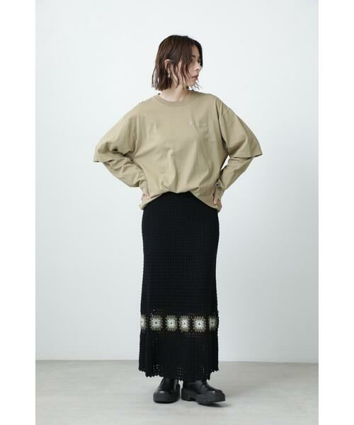 ROSE BUD / ローズ バッド スカート | クロシェスカート | 詳細13