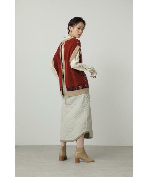 ROSE BUD / ローズ バッド ニット・セーター | 絨毯柄ニット | 詳細2