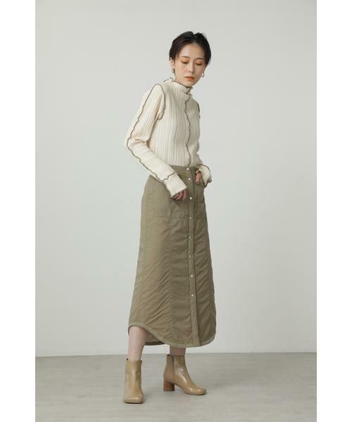 ROSE BUD / ローズ バッド スカート | キルトリバーシブルスカート | 詳細6