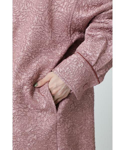 ROSE BUD / ローズ バッド シャツ・ブラウス | ジャカードビッグシャツ | 詳細9