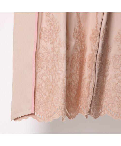 Rose Tiara / ローズティアラ トレンチコート   カットワーク刺繍トレンチコート   詳細11