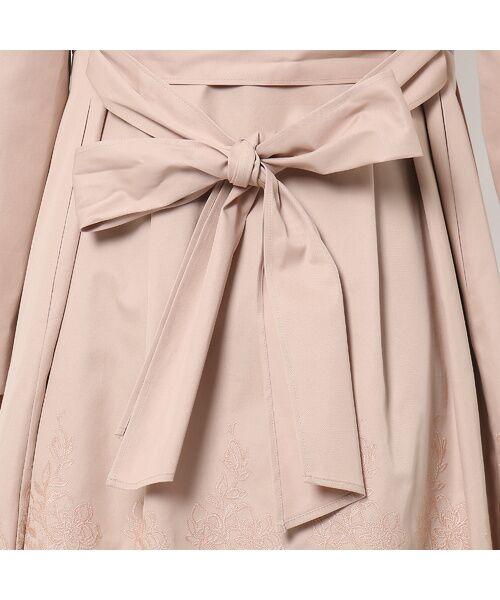 Rose Tiara / ローズティアラ トレンチコート   カットワーク刺繍トレンチコート   詳細8