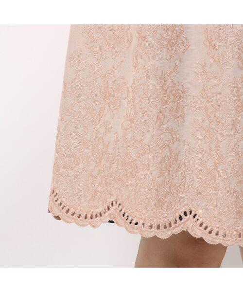 Rose Tiara / ローズティアラ トレンチコート   カットワーク刺繍トレンチコート   詳細9