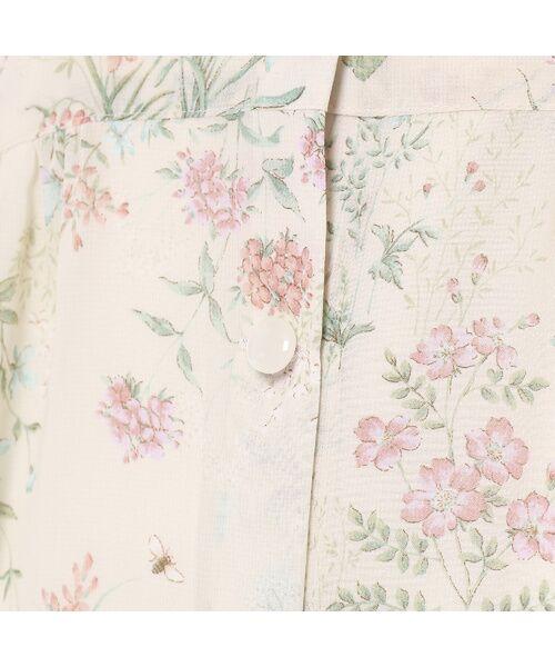 Rose Tiara / ローズティアラ ミニ丈・ひざ丈ワンピース | ボタニカルフラワーガウンワンピース | 詳細7