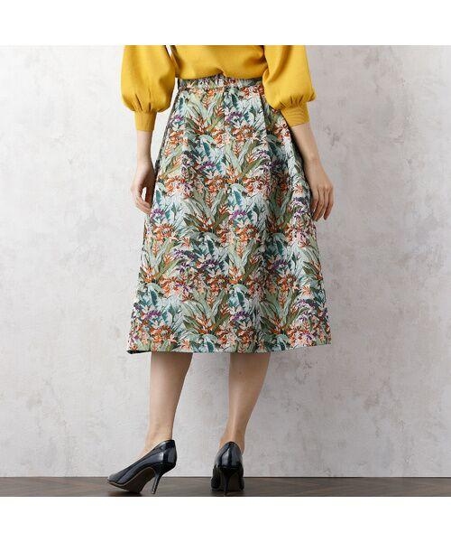 Rose Tiara / ローズティアラ ミニ・ひざ丈スカート | LIMONTAフレアスカート | 詳細6