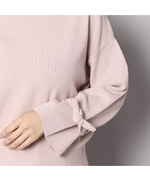 Rose Tiara / ローズティアラ ニット・セーター | フレアリボンスリーブニットプルオーバー | 詳細4
