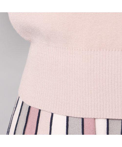 Rose Tiara / ローズティアラ ニット・セーター | フレアリボンスリーブニットプルオーバー | 詳細5