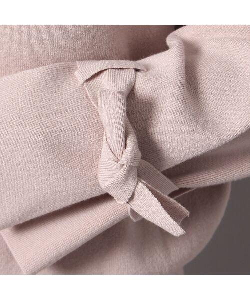 Rose Tiara / ローズティアラ ニット・セーター | フレアリボンスリーブニットプルオーバー | 詳細7