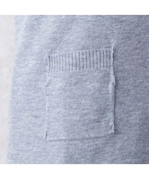 Rose Tiara / ローズティアラ ニット・セーター | フォックスファー付きニットカーディガン | 詳細7