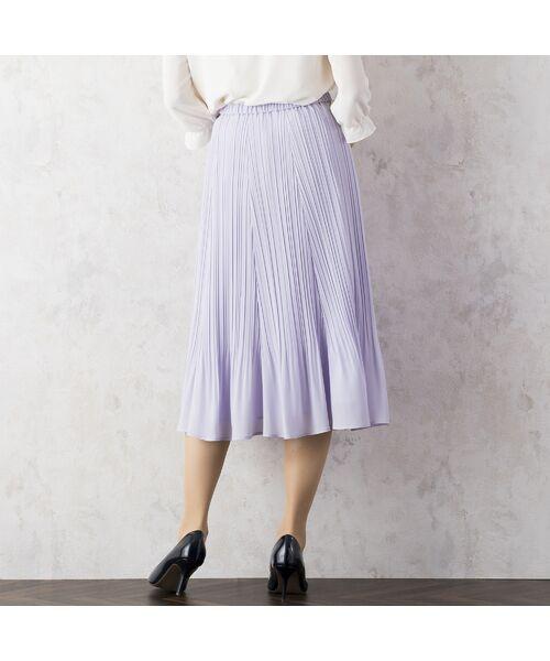Rose Tiara / ローズティアラ ミニ・ひざ丈スカート   シフォンプリーツスカート   詳細2
