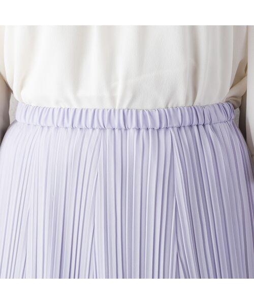 Rose Tiara / ローズティアラ ミニ・ひざ丈スカート   シフォンプリーツスカート   詳細3