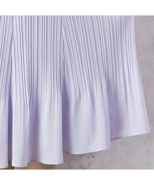 Rose Tiara / ローズティアラ ミニ・ひざ丈スカート   シフォンプリーツスカート   詳細4