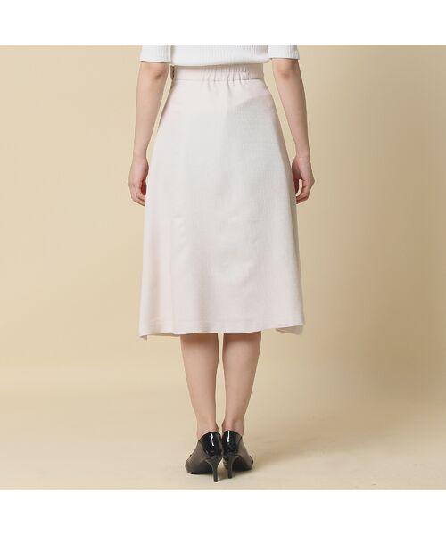Rose Tiara / ローズティアラ ミニ・ひざ丈スカート | 線刺繍フレアスカート | 詳細3