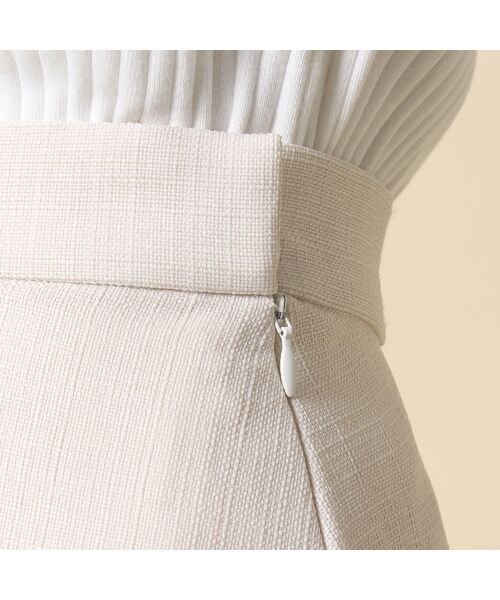 Rose Tiara / ローズティアラ ミニ・ひざ丈スカート | 線刺繍フレアスカート | 詳細5