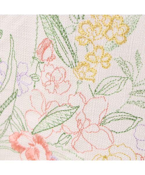 Rose Tiara / ローズティアラ ミニ・ひざ丈スカート | 線刺繍フレアスカート | 詳細7