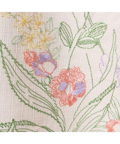 Rose Tiara / ローズティアラ ミニ・ひざ丈スカート | 線刺繍フレアスカート | 詳細8