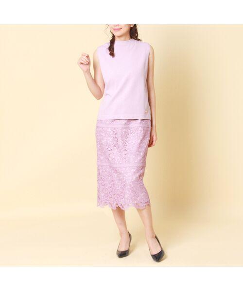 Rose Tiara / ローズティアラ ニット・セーター | コットン混ニットプルオーバー | 詳細3