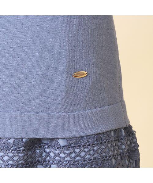 Rose Tiara / ローズティアラ ニット・セーター | コットン混ニットプルオーバー | 詳細8