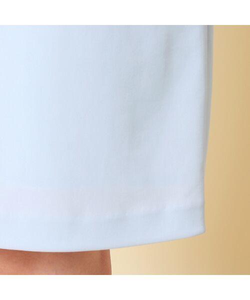 Rose Tiara / ローズティアラ ミニ丈・ひざ丈ワンピース   リボンフラワーモチーフ襟付きワンピース   詳細10
