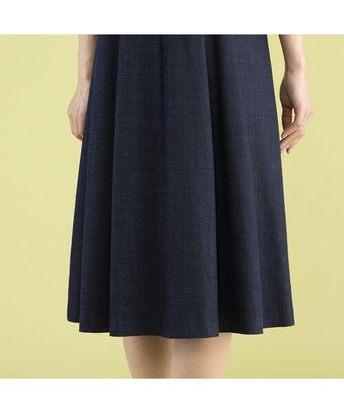 Rose Tiara / ローズティアラ ミニ丈・ひざ丈ワンピース | ウエストタックリボンワンピース | 詳細8