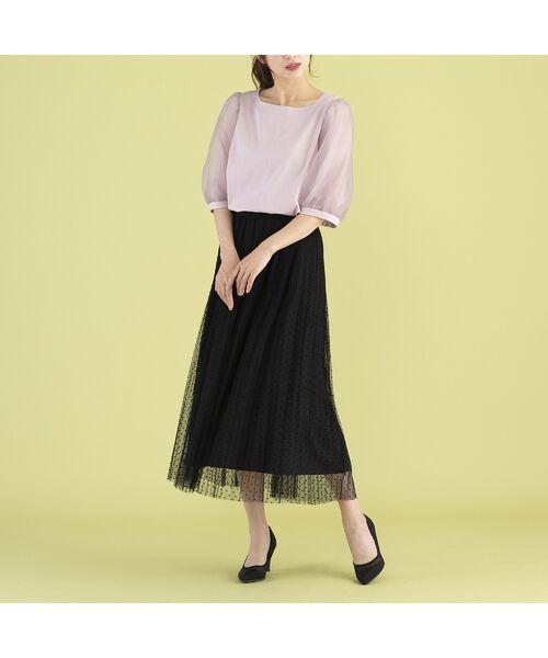 Rose Tiara / ローズティアラ カットソー   パフスリーブカットソー   詳細5