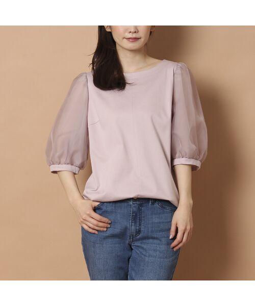 Rose Tiara / ローズティアラ カットソー   パフスリーブカットソー   詳細8
