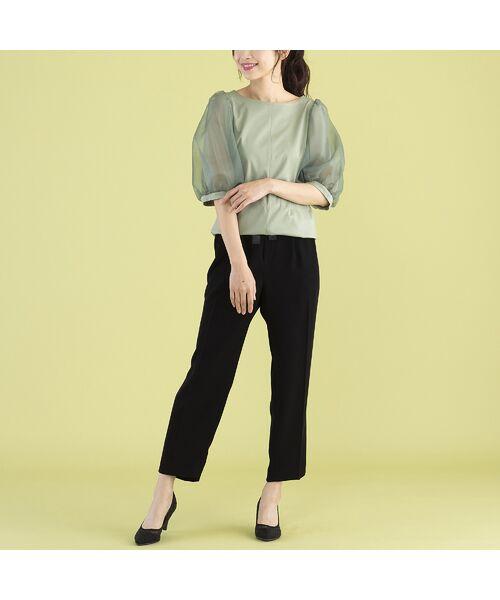 Rose Tiara / ローズティアラ カットソー   パフスリーブカットソー   詳細9