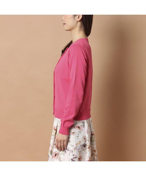 Rose Tiara / ローズティアラ ニット・セーター | リボンモチーフニットカーディガン | 詳細9