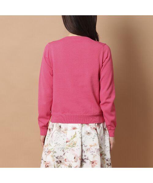 Rose Tiara / ローズティアラ ニット・セーター | リボンモチーフニットカーディガン | 詳細10