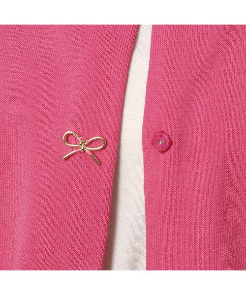 Rose Tiara / ローズティアラ ニット・セーター | リボンモチーフニットカーディガン | 詳細13