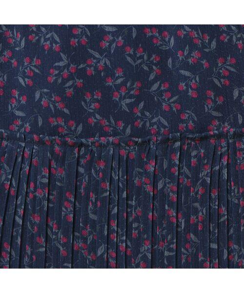 Rose Tiara / ローズティアラ ミニ丈・ひざ丈ワンピース | ベリープリントマキシワンピース | 詳細5