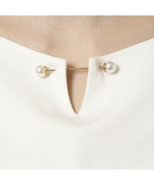Rose Tiara / ローズティアラ シャツ・ブラウス   3D刺繍袖ブラウス   詳細10