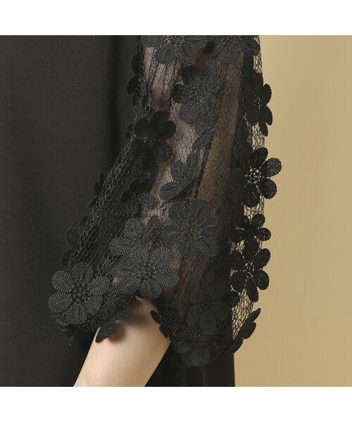 Rose Tiara / ローズティアラ シャツ・ブラウス   3D刺繍袖ブラウス   詳細14