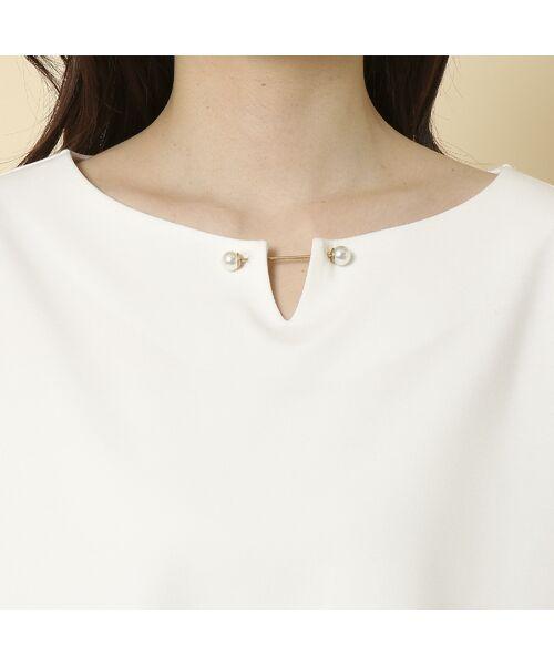 Rose Tiara / ローズティアラ シャツ・ブラウス   3D刺繍袖ブラウス   詳細6
