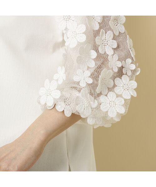 Rose Tiara / ローズティアラ シャツ・ブラウス   3D刺繍袖ブラウス   詳細7