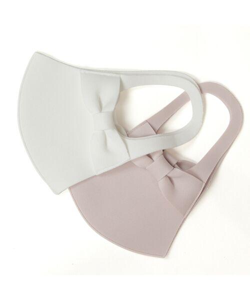 Rose Tiara / ローズティアラ ハット | 耳が痛くなりにくいマスク リボン 《 2枚1セット 》(ピンク)