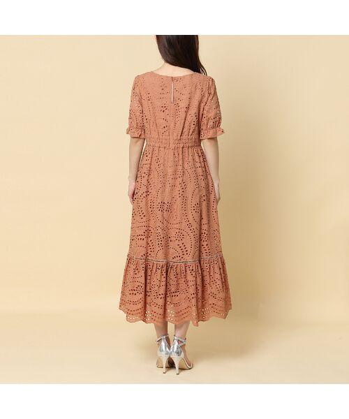 Rose Tiara / ローズティアラ ミニ丈・ひざ丈ワンピース   アイレット刺繍ワンピース   詳細5