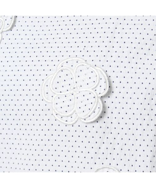 Rose Tiara / ローズティアラ シャツ・ブラウス | フラワーモチーフ付きブラウス | 詳細7
