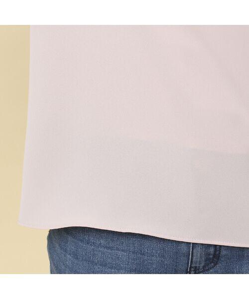 Rose Tiara / ローズティアラ シャツ・ブラウス | 【追加生産決定】レース切替袖ブラウス | 詳細12