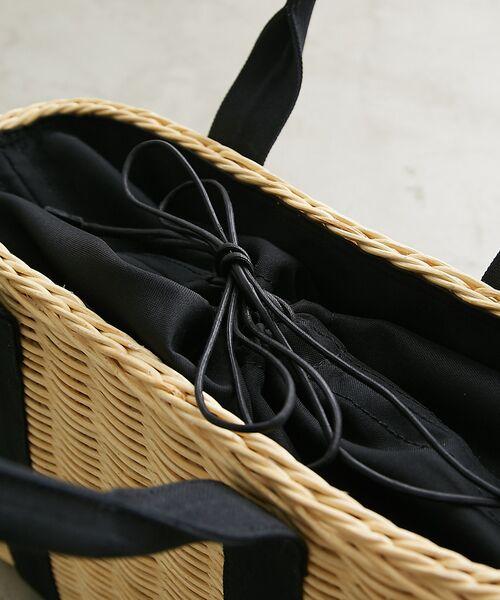 Rouge vif la cle / ルージュ・ヴィフ ラクレ トートバッグ | COTTO 巾着カゴバッグ | 詳細5