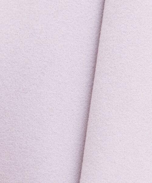 Rouge vif la cle / ルージュ・ヴィフ ラクレ ブルゾン | ノーカラーロングコート | 詳細1