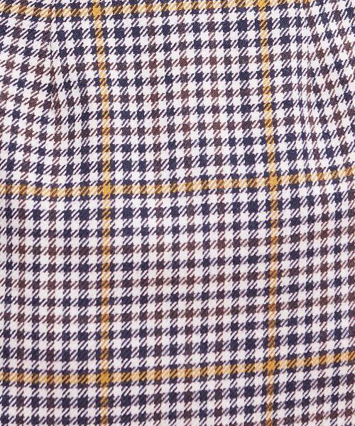 Rouge vif la cle / ルージュ・ヴィフ ラクレ ミニ・ひざ丈スカート   カラーチェックラップスカート   詳細8