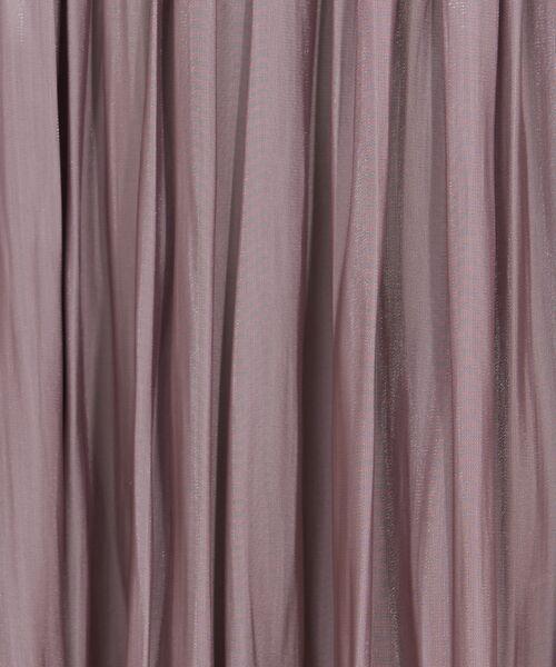 Rouge vif la cle / ルージュ・ヴィフ ラクレ スカート   サテンギャザーイレギュラーヘムスカート1【予約】   詳細3