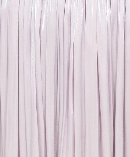 Rouge vif la cle / ルージュ・ヴィフ ラクレ スカート   サテンギャザーイレギュラーヘムスカート1【予約】   詳細7
