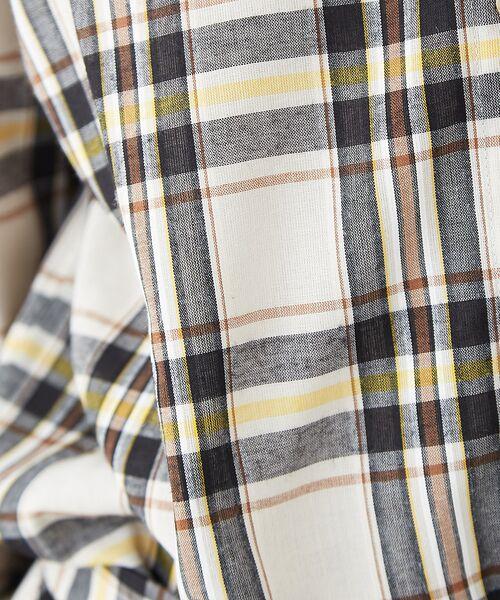 Rouge vif la cle / ルージュ・ヴィフ ラクレ シャツ・ブラウス | チェックビッグシャツ | 詳細4