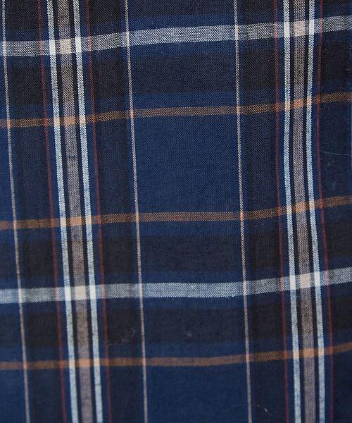 Rouge vif la cle / ルージュ・ヴィフ ラクレ シャツ・ブラウス | チェックビッグシャツ | 詳細16