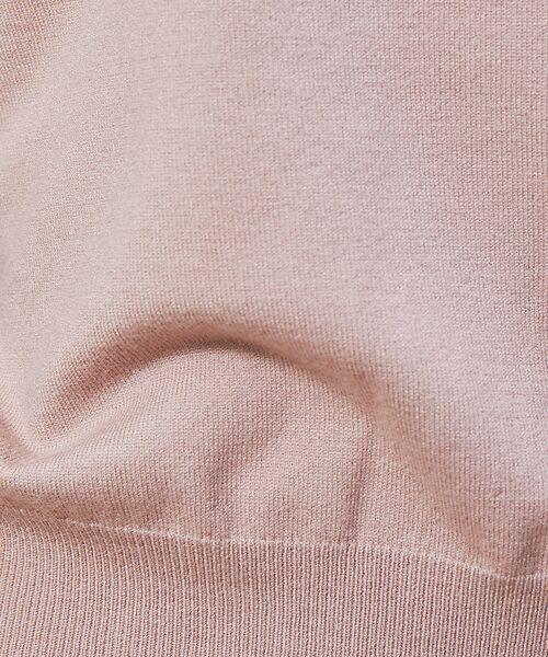 Rouge vif la cle / ルージュ・ヴィフ ラクレ ニット・セーター | バイカラー袖ボタンニット【予約】 | 詳細4