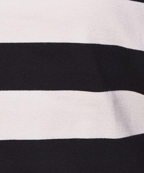 Rouge vif la cle / ルージュ・ヴィフ ラクレ ニット・セーター | バイカラー袖ボタンニット【予約】 | 詳細18