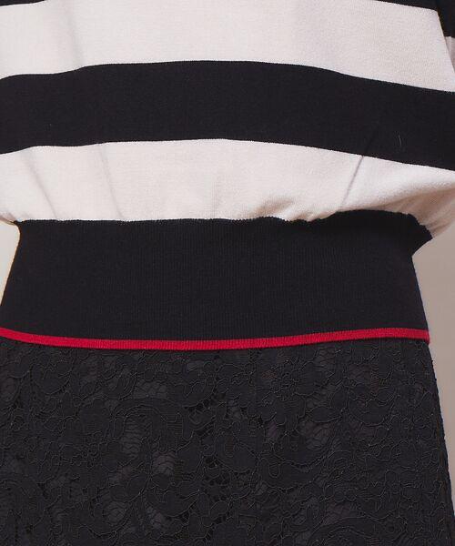 Rouge vif la cle / ルージュ・ヴィフ ラクレ ニット・セーター | バイカラー袖ボタンニット【予約】 | 詳細17